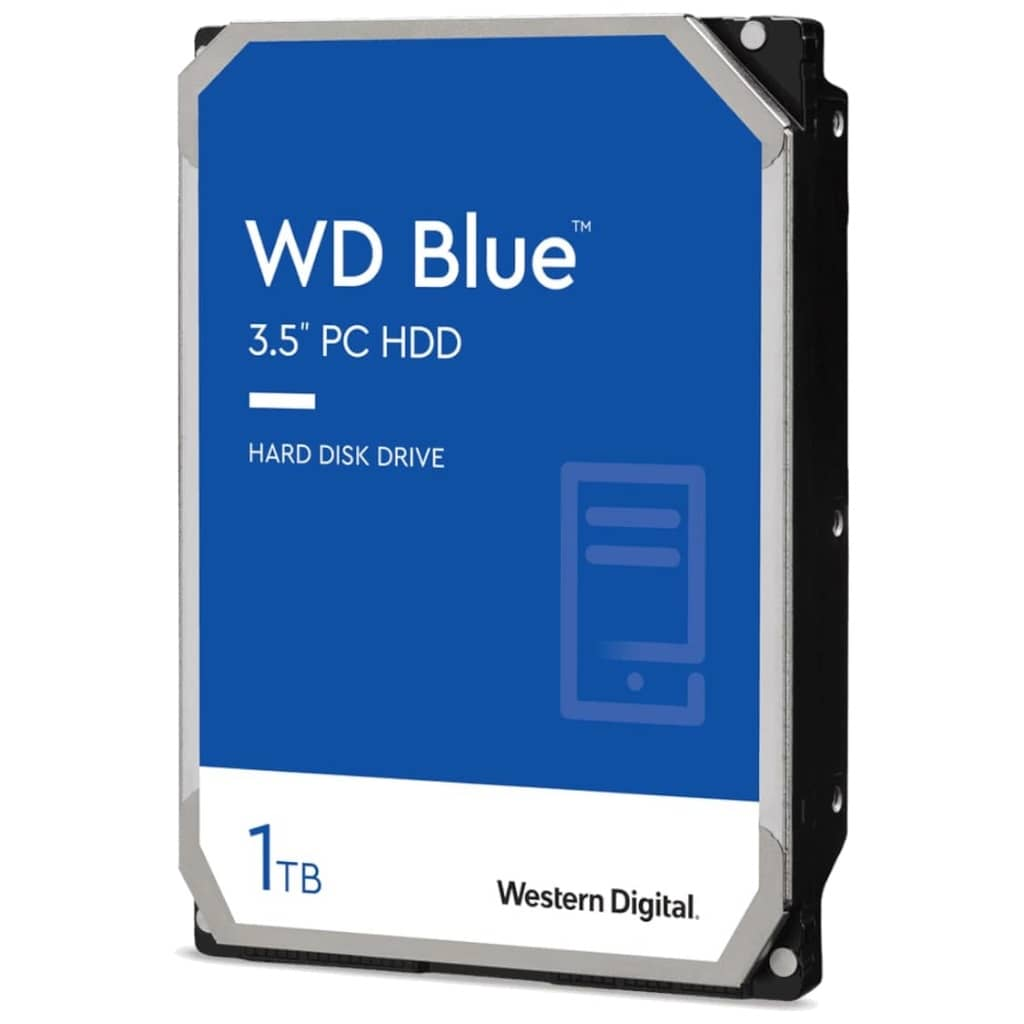 "Disque HDD 3.5"" SATA Western Digital Blue PC, 1To (WD10EZEX)"