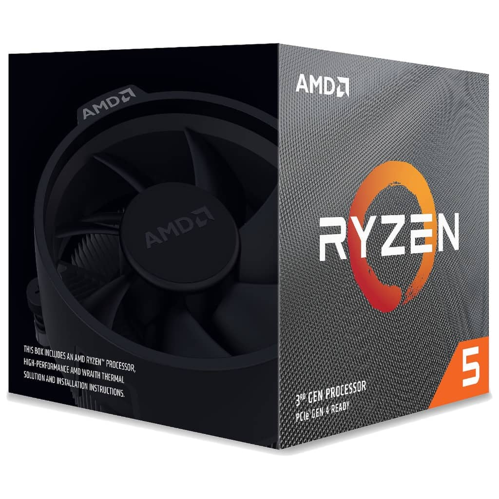 Processeur AMD AM4 Ryzen 5-3600XT, 4.50GHz Turbo (100-100000281BOX)