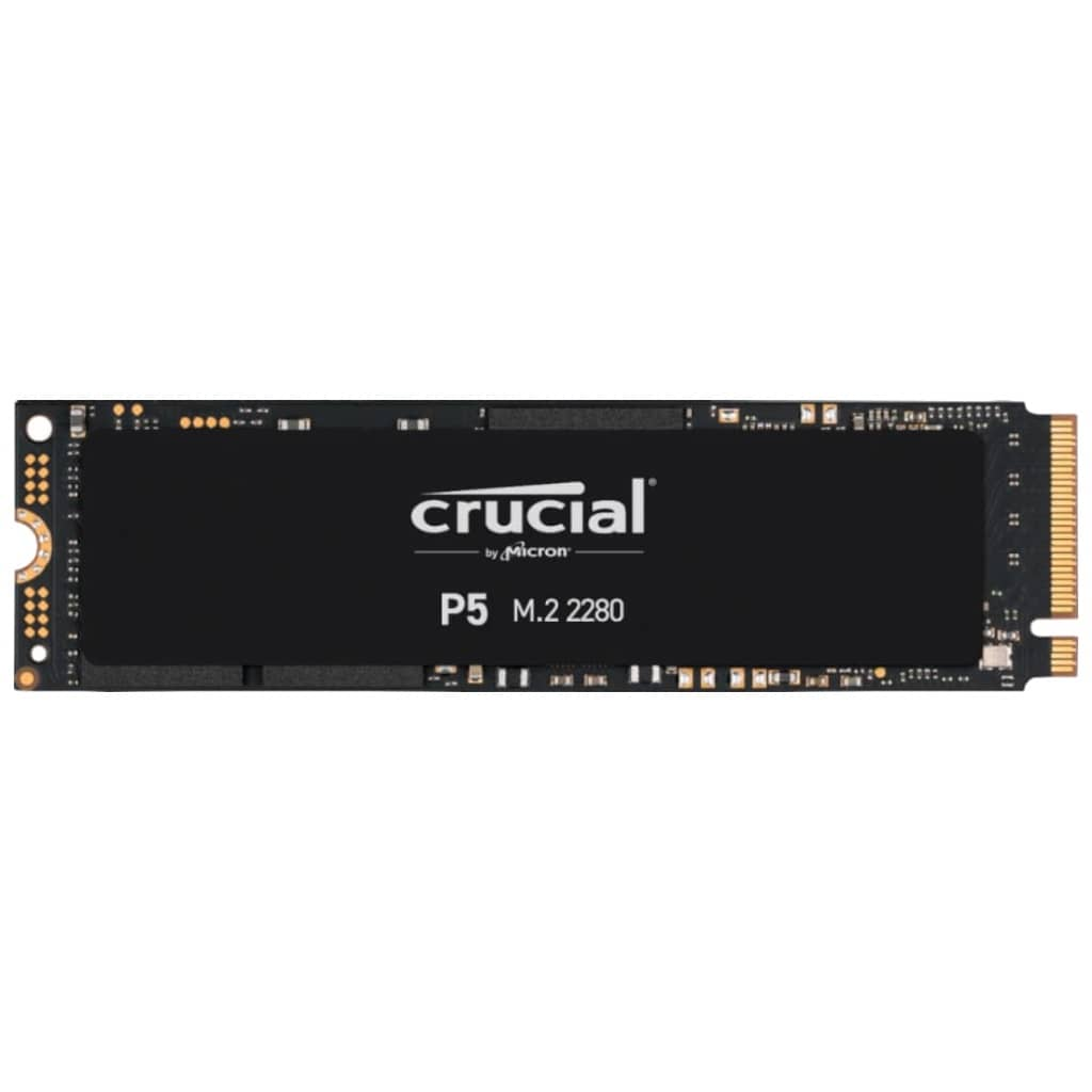 Disque SSD M.2 PCIe Crucial P5,  500Go (CT500P5SSD8)